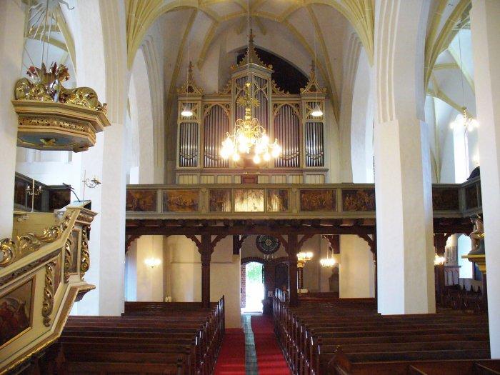 Altar der Kreuzkirche Foto A. Adam